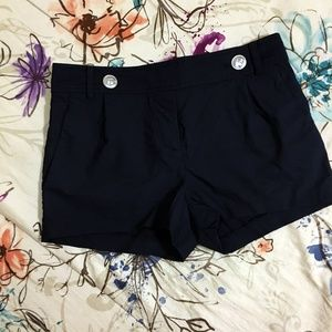 ELIZABETH AND JAMES Navy Shorts